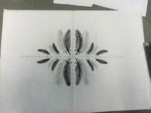 Mirrored repeat design. Oct2015