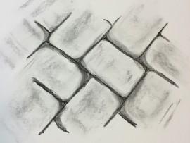 Cobbles sketch. Feb2016